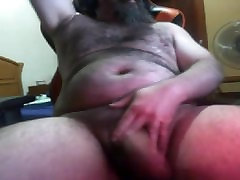 BIG HAIRY BEARDED BEAR FAT UNCUT DICK