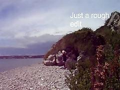Early rough beach flashing