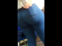 Phat ass in jeans