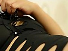 CAMSTER - Thick Latina Cam Girl Black Dress Tease