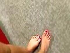 Black Meat White Feet - Interracial Foot Fetish Video 11