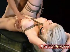 Bdsm bound and fucked Big-breasted