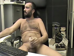 Fabulous amateur gay video with Webcam, Solo Male scenes