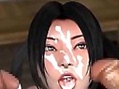 Big TITS Hentai 3D Porn Sex