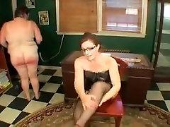 Fabulous homemade Spanking, BBW xxx video