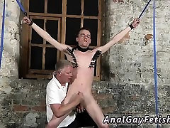 Gay bondage escorts Sean McKenzie is bound up and at the