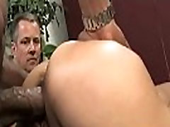 Cuckold Sessions with sexy big tit wife sucking big black dick 30