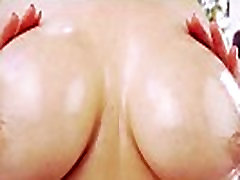 Busty asian dicksucking in outdoor POV