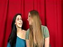 Lesbian babes are tasting pussy