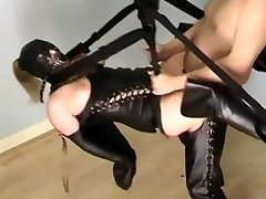 Horny homemade BDSM, Fetish sex movie