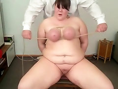 Incredible homemade Big Tits, BDSM sex video