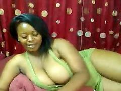 Hot Ebony BBW Whore Masturbates