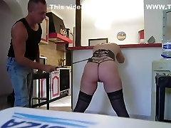 Amazing homemade BDSM, Ass adult clip