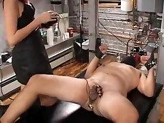 Fabulous amateur Redhead, Femdom adult clip