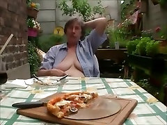 Amazing Homemade clip with Outdoor, Grannies scenes
