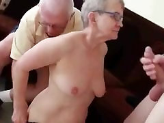 Granny Fucked In Front Of Her Husband