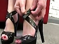 Black Meat White Feet - Interracial Foot Fetish Fuck Video 30