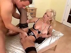 Exotic amateur Blonde, Mature porn scene