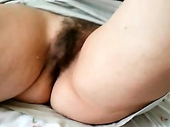 Busty Mature Jane Masturbate her Hairy Twat