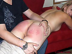A Trip Over the Knee - Spanking