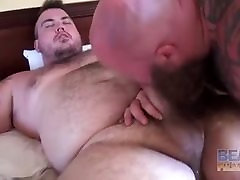 Rusty G bear threesome