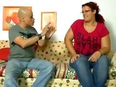 Crazy homemade German, BBW sex clip