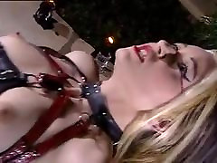 extremely beautiful gothic girl Yvonne is a slave