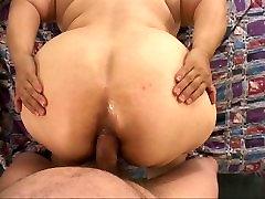 Big Butt Mexican Granny Gets Butt Fucked BBW GILF