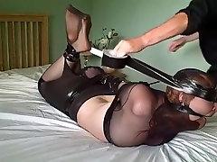 Crazy homemade BDSM porn clip