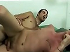 Straight men playing with their cocks and boys to have gay sex first