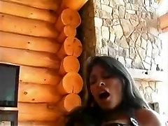 Crazy homemade Latina, Femdom sex clip