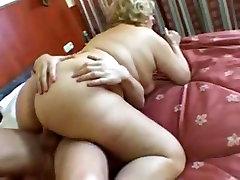 Exotic amateur Grannies, BBW sex clip