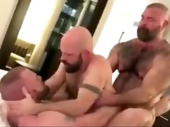 Crazy homemade gay video with Group Sex, Bears scenes
