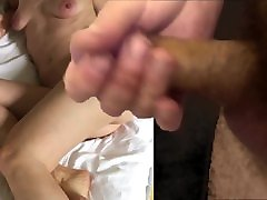 big cum over redhead mature
