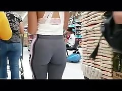 Thick teen in pink leggings part 1
