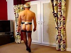 Sissy Slut Gay Maid Andrew Exposed