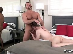 Pianist DIrk Caber fucks his young gay fan