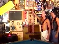 handsome muscle bear fuck a guy at pool table