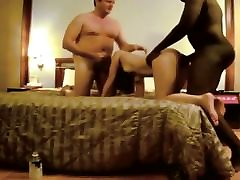 Hot asian wife fucked by black bull