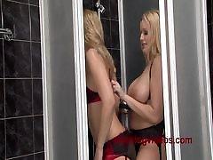 StockingVideos - Big tits wet panties