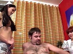 Busty German Teen Helps Amateur Couple