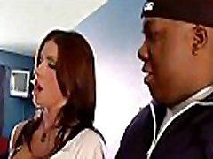 Slut Milf alyiah stone Busy On Tape With Big Black Cock vid-02