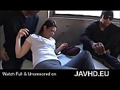 Asian office lady forced to group sex with blacks - full on http:javhd.eu