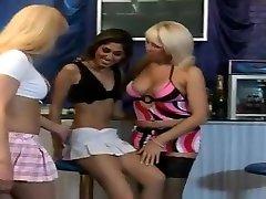 Fabulous homemade shemale video with Fucks Girl, Threesome scenes