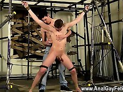 Male models Sean makes him his mega-bitch with some pinwheel