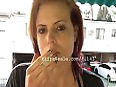 Kristy Smoking Video 1