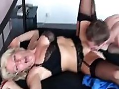 Hot Mom fucks her Young Son for the first Time