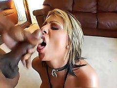 Horny pornstar in crazy big tits, lingerie porn scene