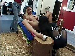 Hottest pornstar Silvia Saint in exotic big tits, lesbian sex clip