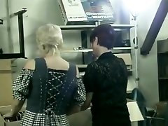 Two Office Girls Fucked In Warehouse